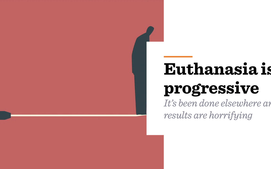 Euthanasia isn't progressive